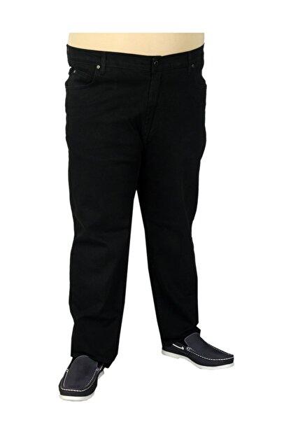 Modexl Büyük Beden Erkek Pantolon Kot Classic 19719 Siyah