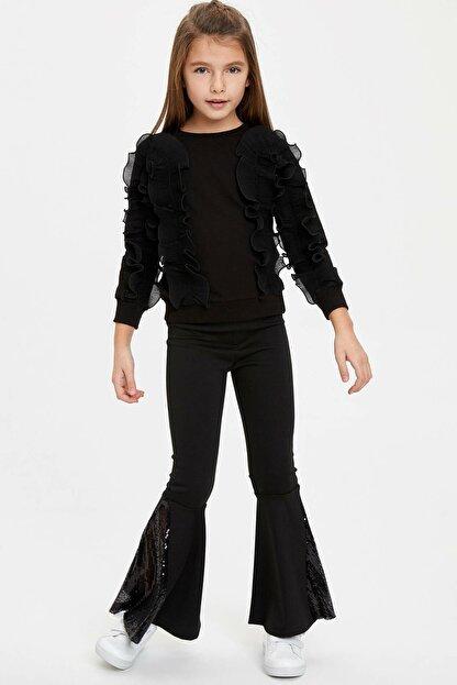 Defacto Paça Detaylı Pantolon