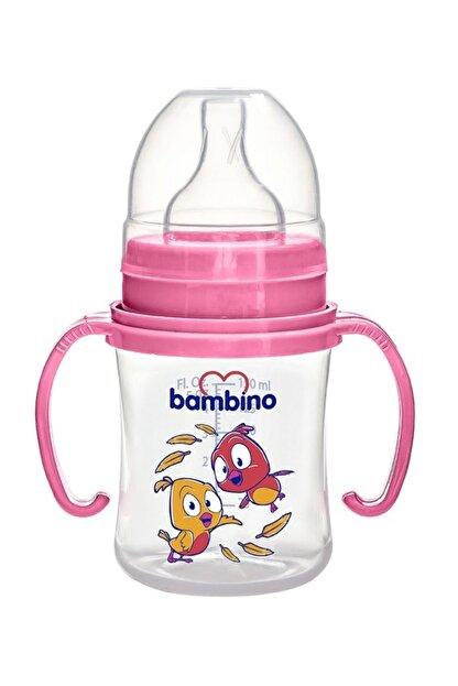 Bambino Geniş Ağızlı Kulplu Pp Biberon 150 Ml Kuş