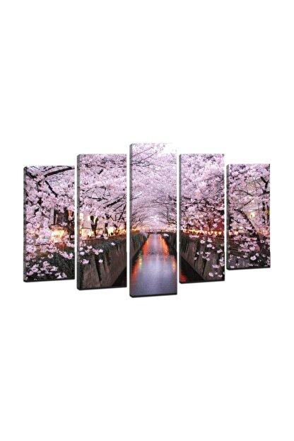 DECOBRITISH Arte Beş Parçalı Kanvas Tablo 110X60 Cm Cm ARTE5P61M216