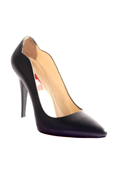 Dgn Siyah Kadın Klasik Topuklu Ayakkabı 166-127