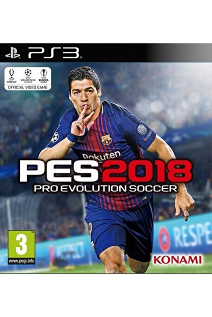 Electronic Arts Pes 2018 Ps3 Oyun