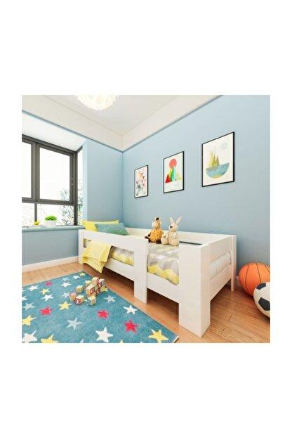 Herseycik Elit Montessori Karyola Beyaz Y2 Yatak Uyumlu 90x190