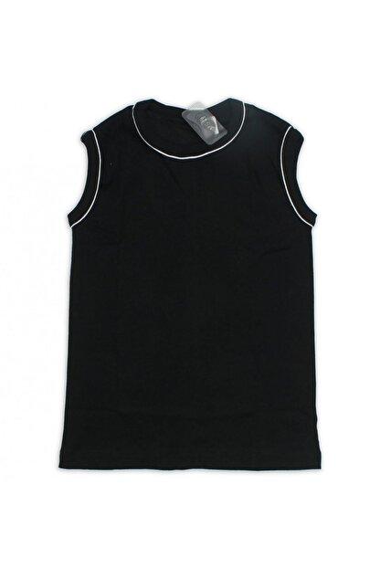 Gümüş İç Giyim Siyah Erkek Çocuk Fanila