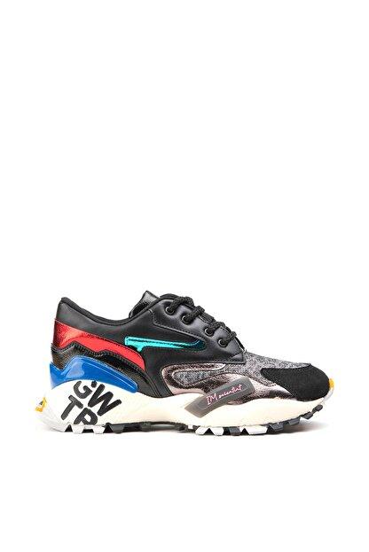 Jeep Ayakkabı Siyah Kadın Spor Ayakkabı 9K2SAJ0140