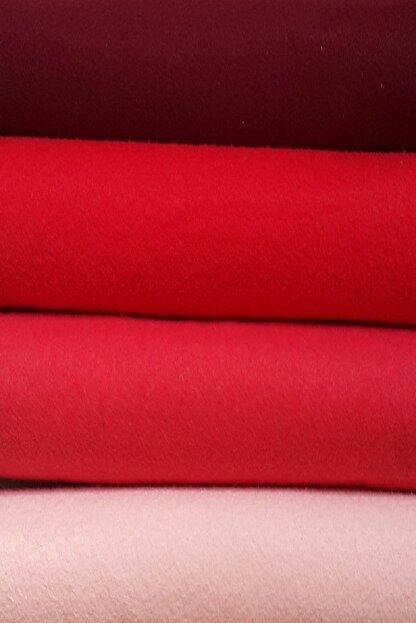 ByOzras Kırmızılı Tonlar İnce Keçe - 4 Renk - 50x50 cm - Hobi Malzemesi