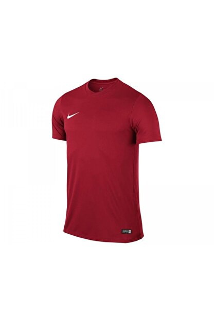 Nike Unisex Çocuk Kırmızı Nike 725984-657 SS YTH PARK VI JSY T-Shirt
