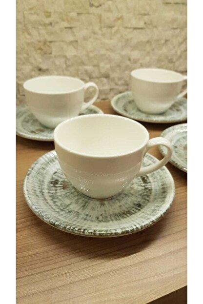 Bonna Odette 6 Kişilik Nescafe Çay Fincan Takımı