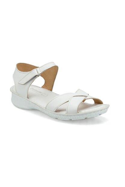Polaris 103089.Z Beyaz Kadın Sandalet 100509758