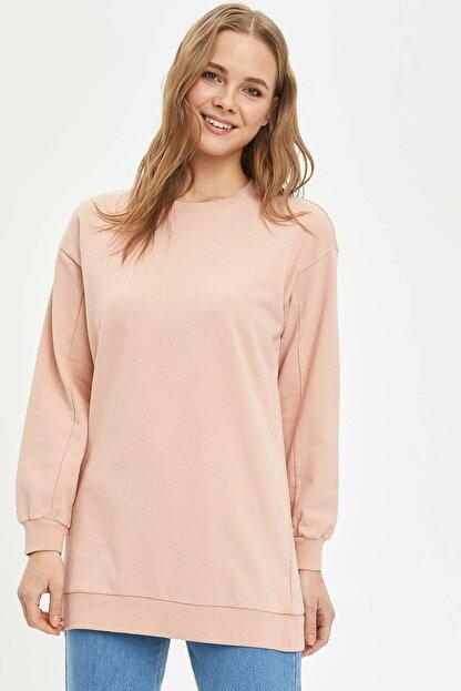 Defacto Modest Relax Fit Basic Sweatshirt