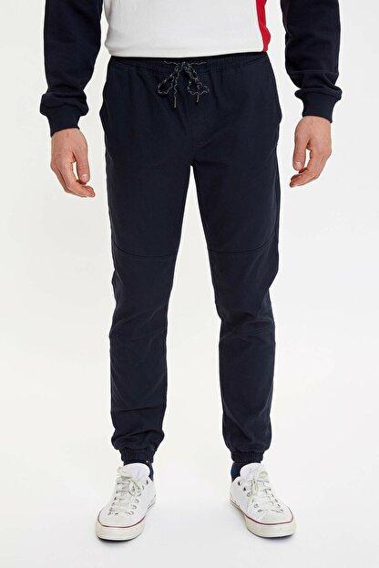 Defacto Erkek Lacivert Jogger Dokuma Pantolon M5463AZ.20SP.NV100