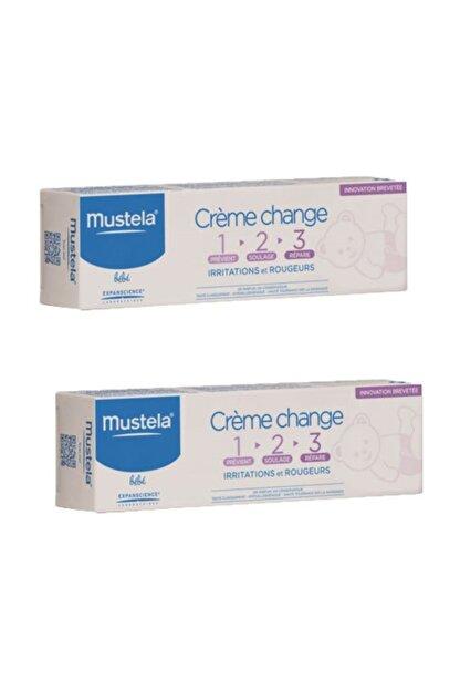 Mustela Vitamin Barrier Cream Tube 100 ml 2 Adet