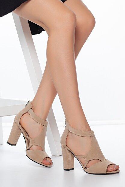 Daxtors Pudra-Süet Kadın Ayakkabı DXTRSAYŞĞ001