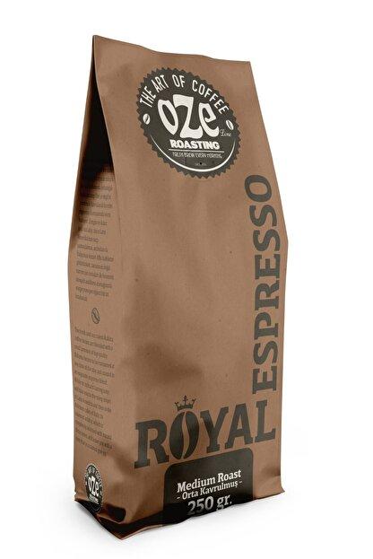 Oze Espresso Royal Kahve 250 Gr. / Öğütülmüş