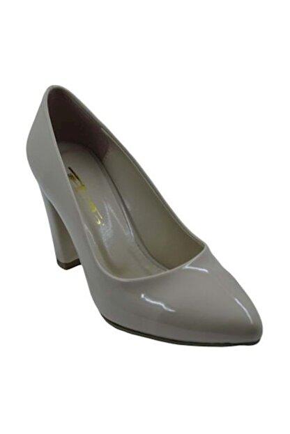 PUNTO 462003 Kadın Topuklu Ayakkabı Ten-Rugan - 36