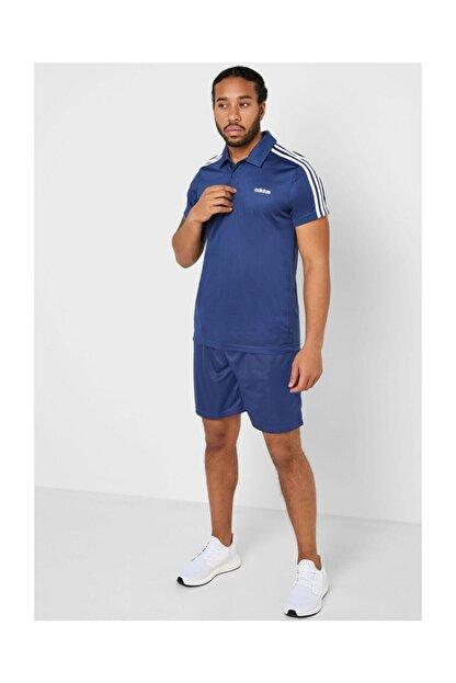 adidas Fl0324 Designed 2 Move 3-stripes Polo Erkek T-shirt