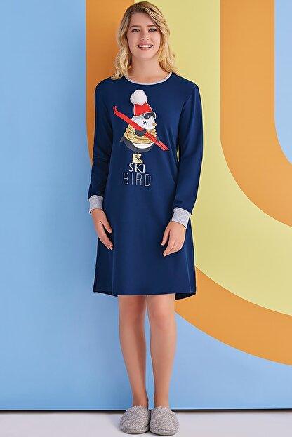Rolypoly Bayan Gecelik Elbise 1363