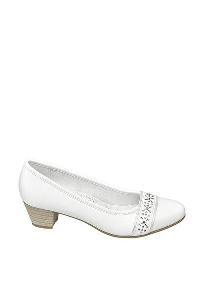 Easy Street Comfort Deichmann Beyaz Kadın Ayakkabı