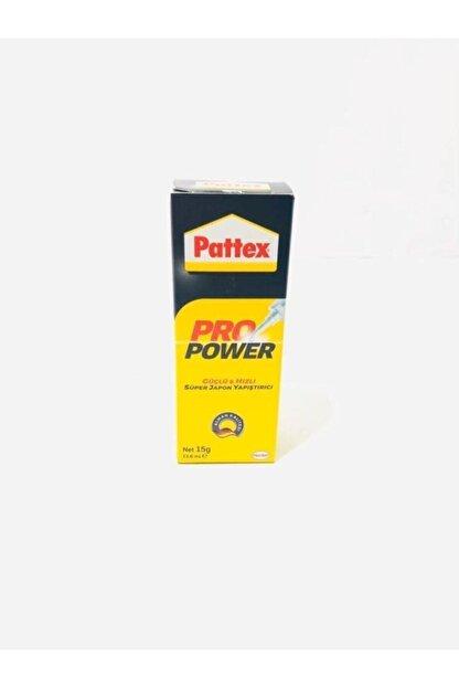 Pattex Pro Power Güçlü Hızlı Süper Japon Yapıştırıcı 15gr