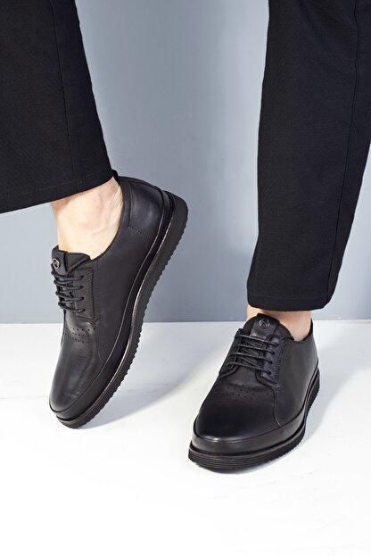 MARCOMEN 20y 152-11308 Erkek Deri Günlük Ayakkabı Siyah