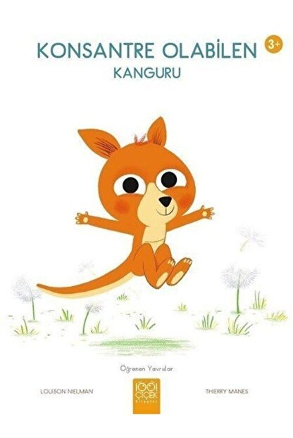 1001 Çiçek Kitaplar Konsantre Olabilen Kanguru