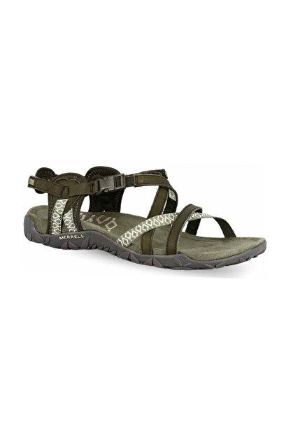 Merrell Kadın Yeşil Terran Lattıce Iı Sandalet J98756