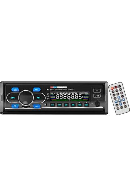 CVS Dn-6310 Araba Oto Teyp Radyo Bluetooth 2 Çift Usb Sd Aux Telefon Şarj Rgb Tuş Işığı App Konrol 4x60