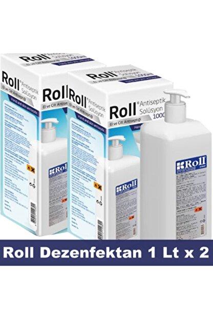 Roll Antiseptik Solüsyon El Ve Cilt Antiseptiği 1 Lt. X 2 Adet