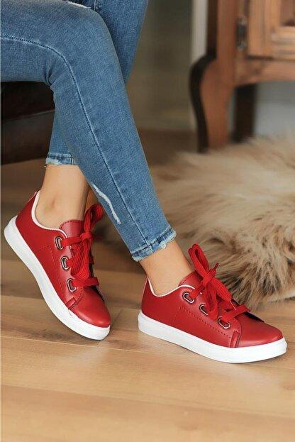 Pembe Potin Kırmızı Kadın Casual Ayakkabı A320-20