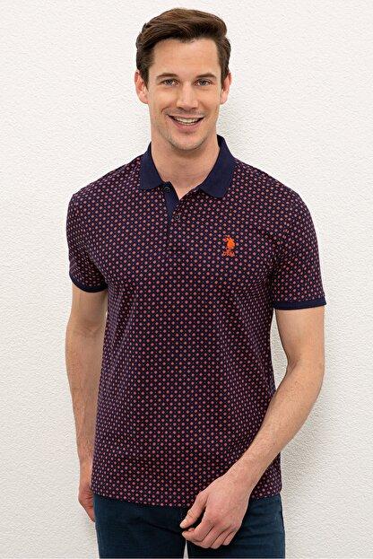 US Polo Assn Nar Cıcegı Erkek T-Shirt G081SZ011.000.1083023