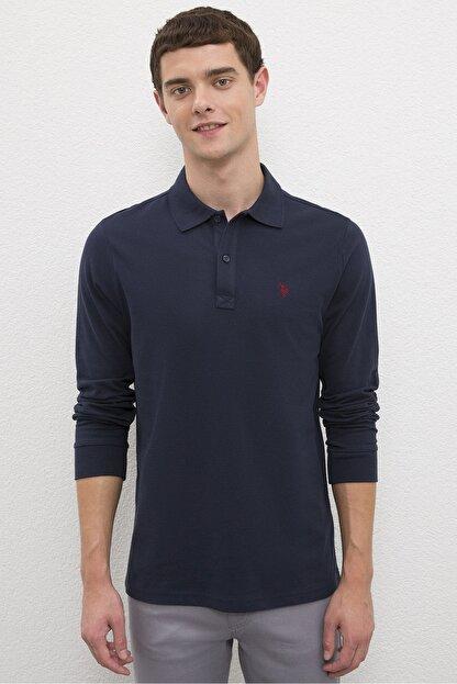 US Polo Assn Lacıvert Erkek Sweatshirt
