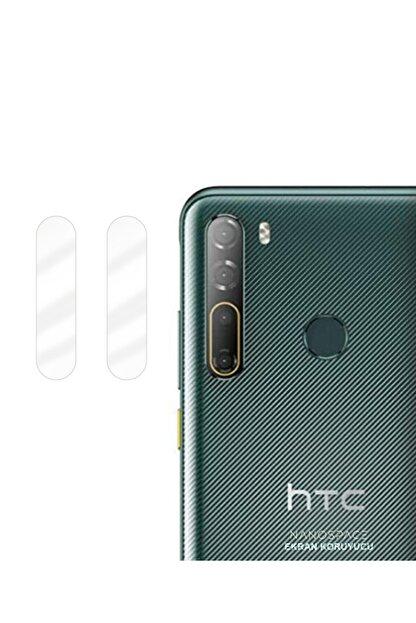 NANOSPACE Htc Desire 20 Pro Uyumlu Nano Kamera Koruyucu 2 Adet