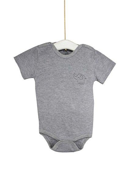 Aziz Bebe Çocuk Nakışlı Çıtçıtlı Zıbın 1-3 Yaş Azz001781