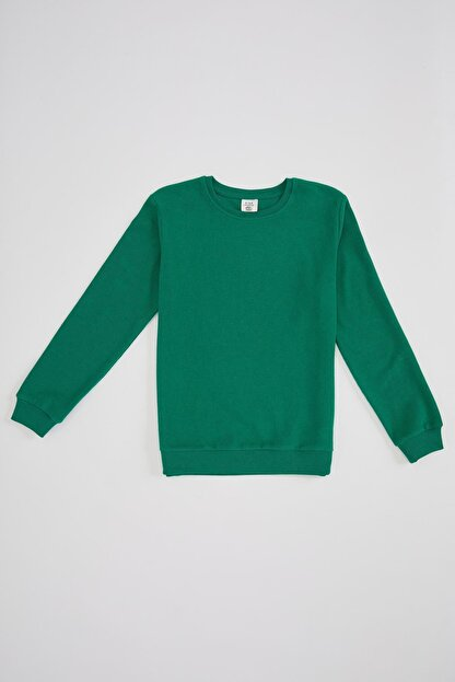 Defacto Erkek Çocuk Basic Selanik Kumaş Sweatshirt