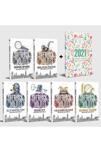 Halk Kitabevi Sherlock Holmes 6 Kitap Set Ve Yaz Bahçesi Akademik Ajanda
