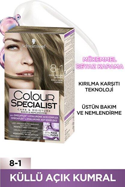 Colour Specialist Schwarzkopf Colour Specialist 8.1 Küllü Açık Kumral