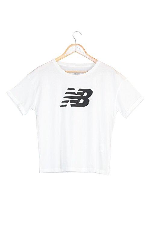 New Balance Spor T-Shirt - NB VOM TEE - V-WTT807-WT 1