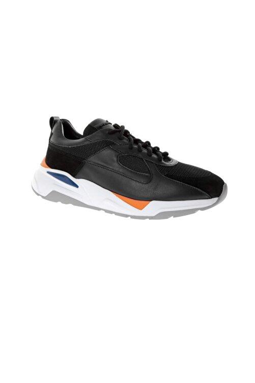Male Industry Erkek Spor Ayakkabı 2891-32 Fw Siyah Soft -Siyah Süet 2