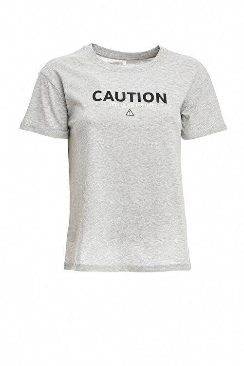 DeFacto Baskılı Kısa Kollu Tişört 1