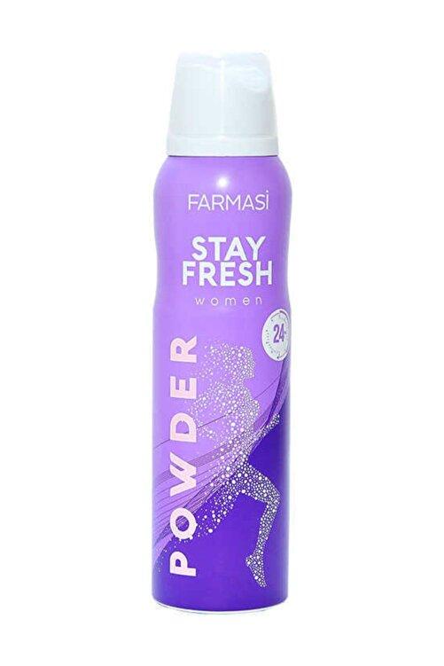 Farmasi Deodorant - Stay Fresh Powder Deodorant Kadın 150 ml 8690131110000 1