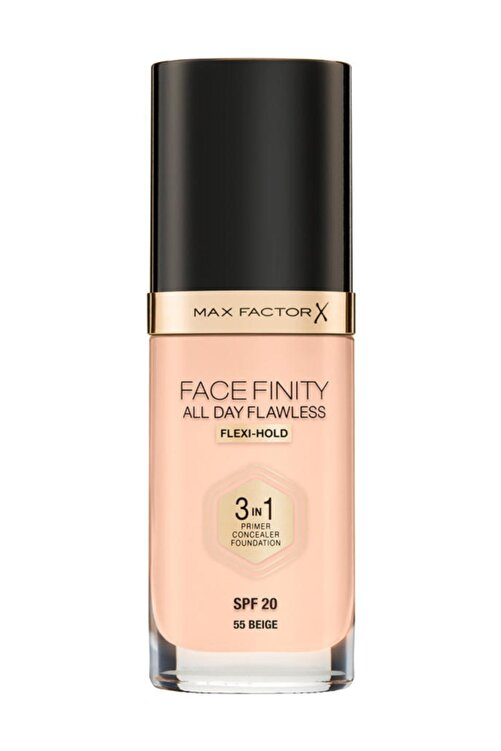 Max Factor Fondöten - FaceFinity All Day Flawless Foundation 55 Beige 3614225851629 1