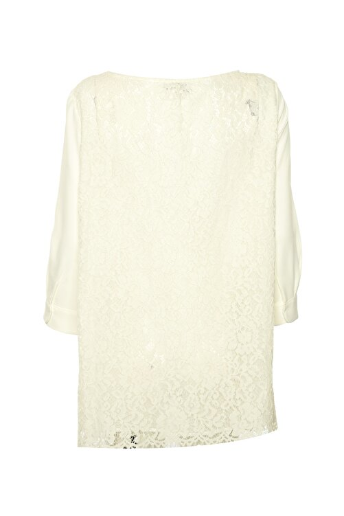 İpekyol Kadın Beyaz Tunik IS1190016020 2