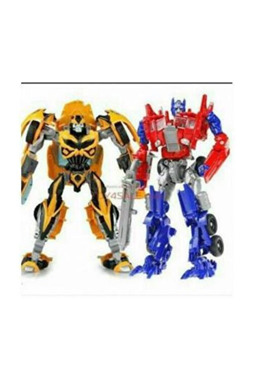 Duman Bumblebee Optimus Prime Ikili Kutulu Set Tıra Dönüşebilen Robot Transformers 1