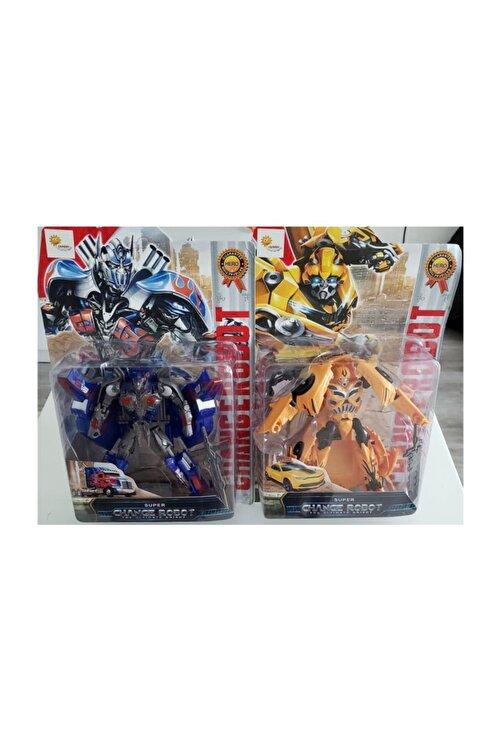 Duman Bumblebee Optimus Prime Ikili Kutulu Set Tıra Dönüşebilen Robot Transformers 2