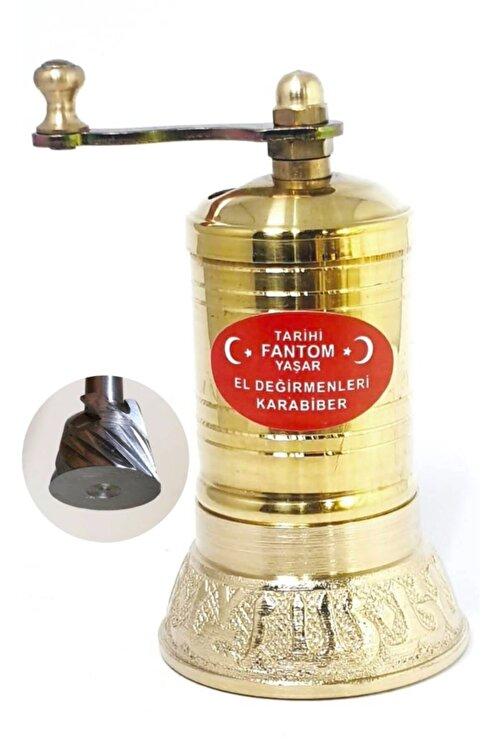 Fantom Pirinç Işlemeli Yarım Tombul Öğütücü El Değirmeni Tekli Ln-284 2