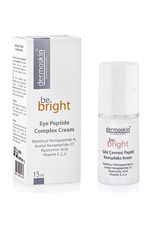 Dermoskin Be Bright Göz Çevresi Peptit Kompleks Krem 15 ml 1