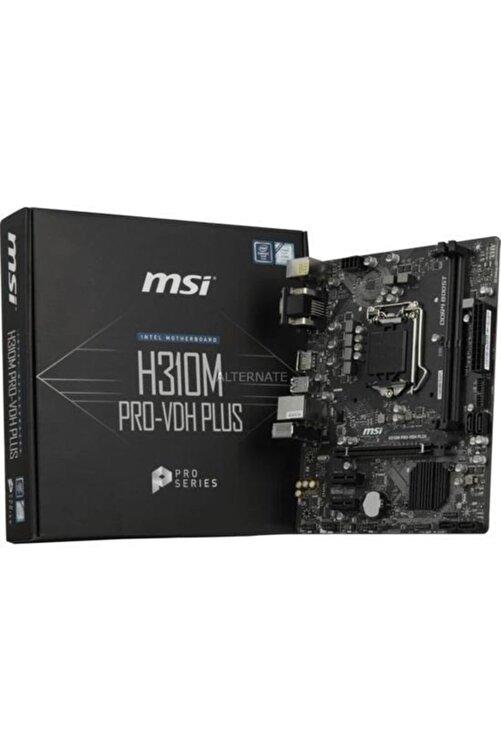 MSI H310m Pro-vdh Plus Soket 1151 Ddr4 2666 Dvı Vga Hdmı Usb3.1 Matx Wın7 Wın10 1