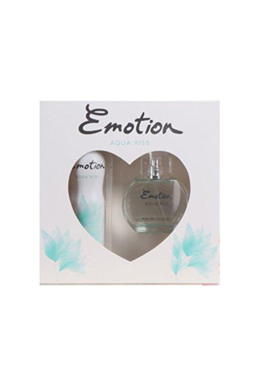 Emotion Aqua Kiss Parfüm 50 ml & Deodorant Kofre Set 150 ml 1