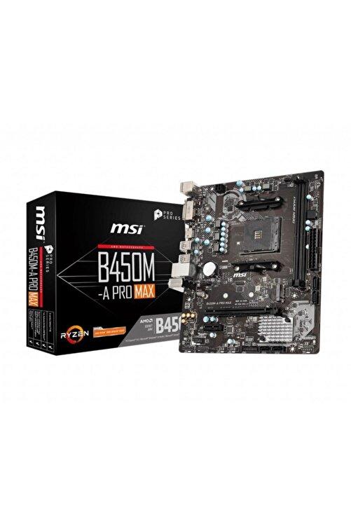 MSI B450m-a Pro Max Ddr4 4133mhz (oc) Am4 Micro Atx Anakart 1