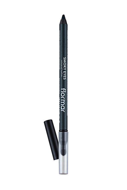 Flormar Suya Dayanıklı Göz Kalemi - Smoky Eyes Waterproof Eyeliner 003 Deep Khaki 8690604547265 1